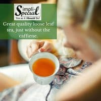 Earl Grey Decaffeinated Black Loose Leaf Tea in Pouches and Caddies